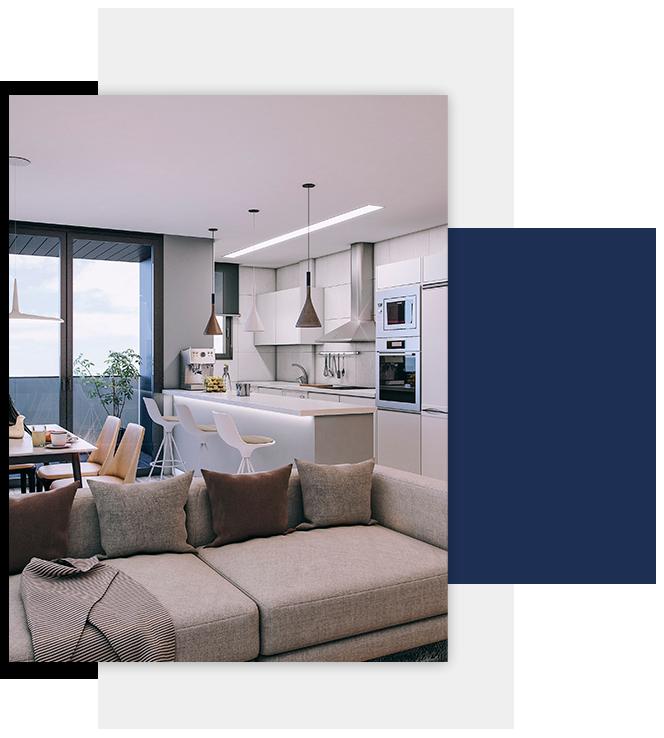 Detalle interior vivienda