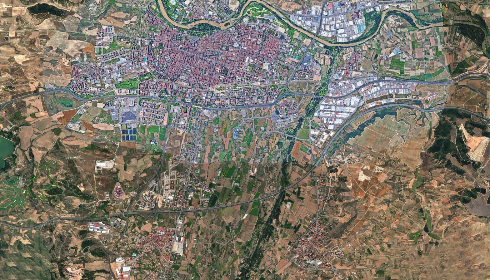 Plano Zona de Logroño
