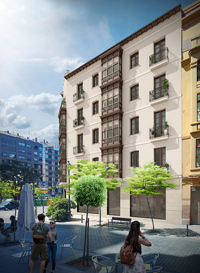 Fachada Edificio Murrieta 20 Canalejas