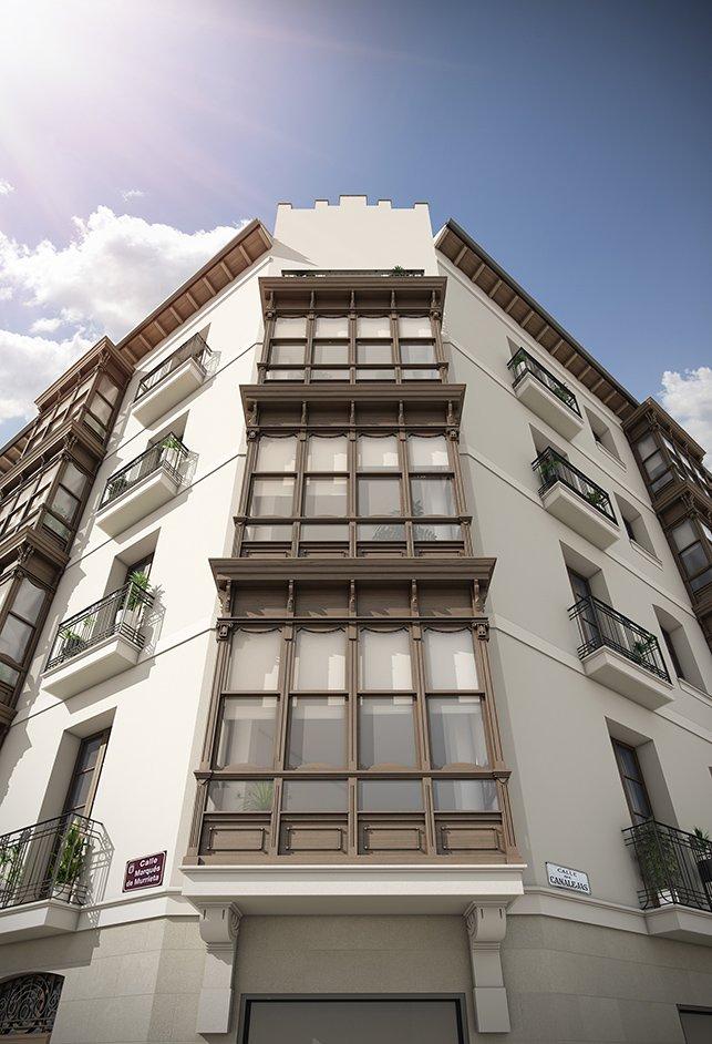Detalle Fachada Edificio Murrieta 20 Canalejas