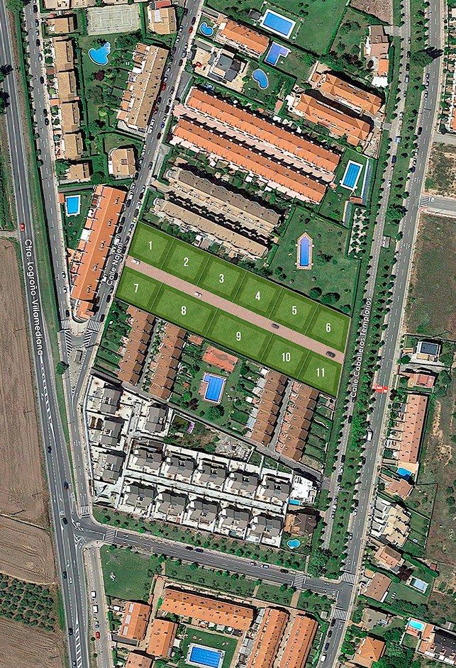 Parcelas Urbanizadas Villas del Iregua