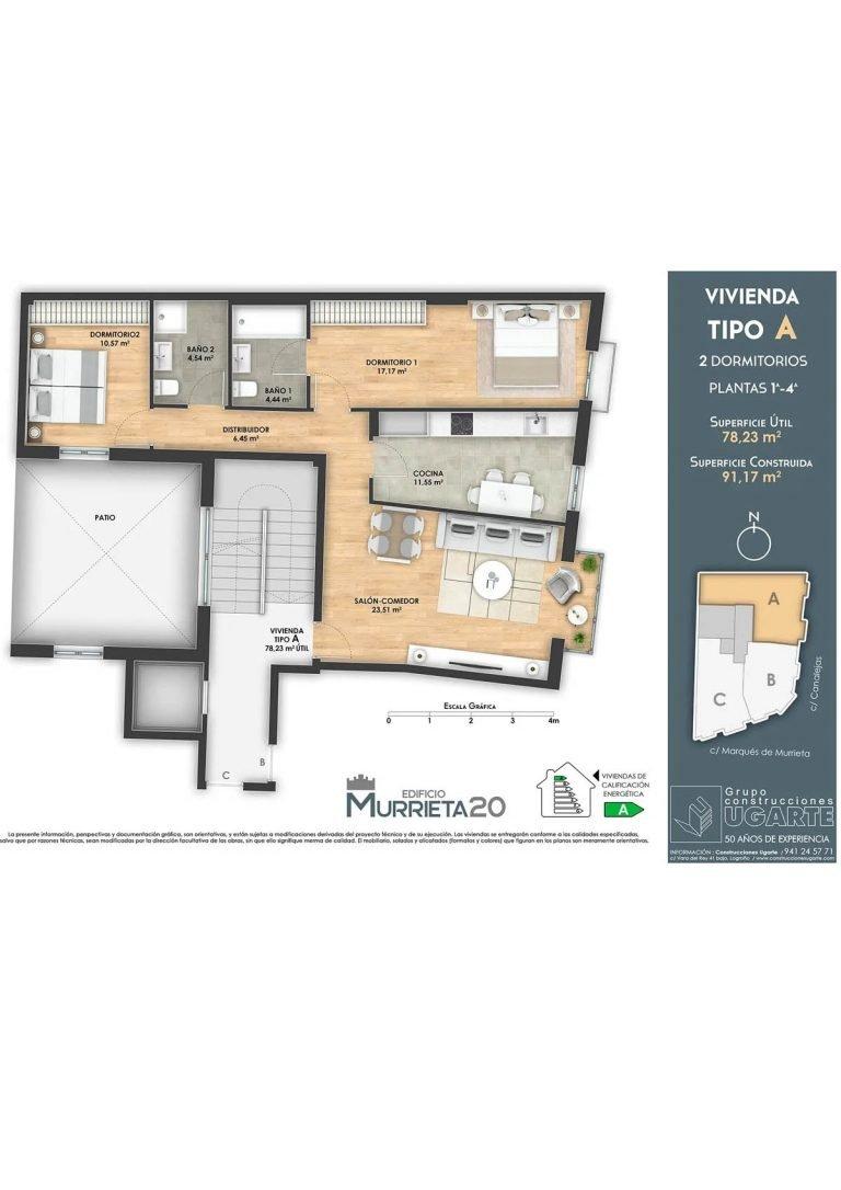 Ficha de venta Edificio Murrieta 20